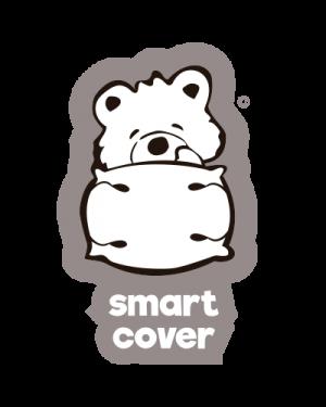 SET 2 buc. FEȚE DE PERNĂ SMART COVER® - 100% BUMBAC – LA PERNA OPTO® (1-4 ani)